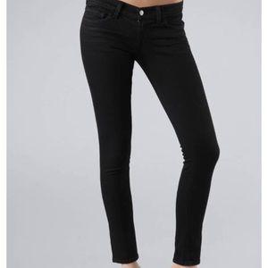 J brand the Jett style black jeans